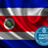 Costa Rica Flag with SWP