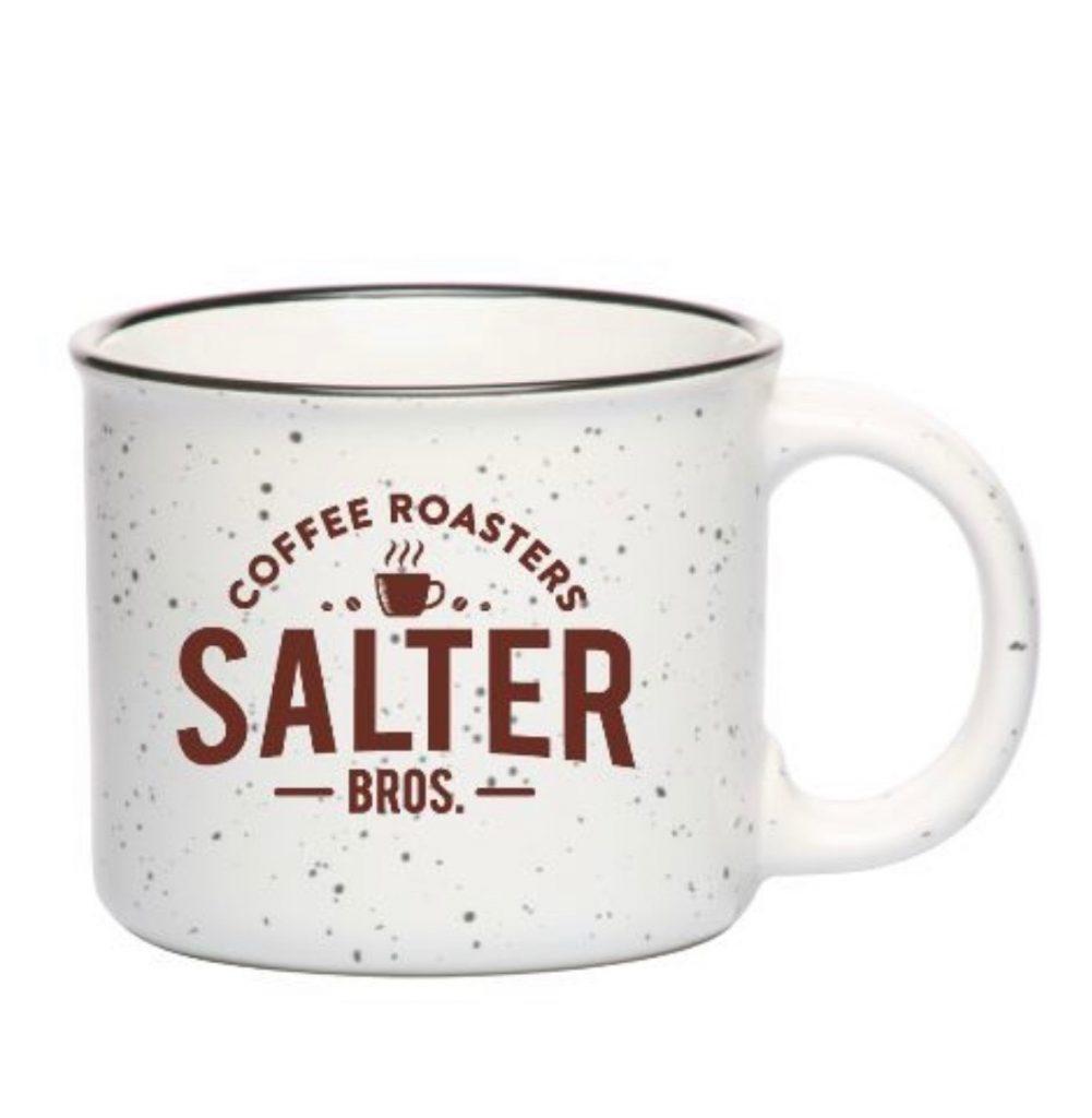 Salter Bros. 13 oz White Ceramic Campfire Mug